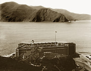 Fort Point And The Golden Gate San Francisco Circa 1890 Print by California Views Mr Pat Hathaway Archives