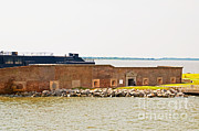 Civil War Fort Framed Prints - Fort Sumter, Sc Framed Print by Millard H. Sharp