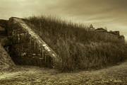 Historic Battle Site Art - Fort Taber No. 1 by Dave Gordon