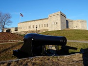 Trumbull Connecticut Prints - Fort Trumbull Print by Keith Stokes