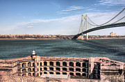 Iron Bridges Prints - Fort Wadsworth  Print by JC Findley