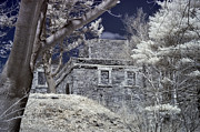 Joann Vitali Prints - Fort Williams in IR Print by Joann Vitali