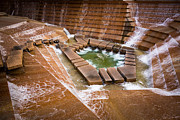 Staircase Prints - Fort Worth Water Gardens Print by Inge Johnsson