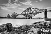 Ray Devlin - Forth Bridge from South...