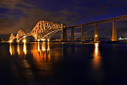 Railway Art - Forth Rail Bridge by Marcia Colelli