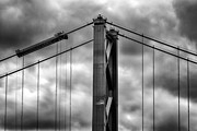 Canvas Photo Metal Prints - Forth Road Bridge Metal Print by John Farnan