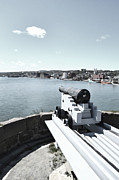 Defending Metal Prints - Fortification NFLD Metal Print by Steve Hurt