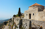 Tiled Framed Prints - Fortress Klis near Split Framed Print by Kiril Stanchev
