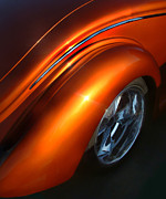 Custom Ford Metal Prints - Forty Curves 2 Metal Print by Tom Griffithe
