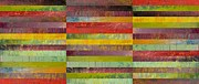 Layered Prints - Forty Five Stripes Print by Michelle Calkins