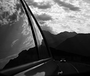 Car Window Framed Prints - Forward To New  Framed Print by Jerry Cordeiro