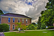 Western Carolina University Photos - Founders Hall at Mars Hill College by Ryan Phillips