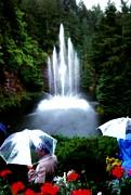 Gail Matthews - Fountain and Umbrellas