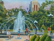 Madeline  Lovallo - Fountain at Washington...