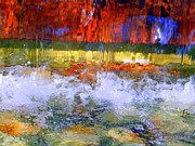 Abstract Fountain Framed Prints - Fountain Splash Framed Print by Ed Weidman