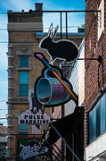 Indiana Metal Prints - Fountain Square Metal Print by Melissa Wyatt