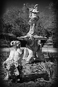 Neptune Prints - Fountain with King Neptune and Tritons Print by Jose Elias - Sofia Pereira