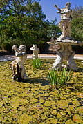 Day Lilly Photos - Fountain with King Neptune and Tritons by Jose Elias - Sofia Pereira
