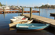 Four Boats  Print by Cynthia Guinn