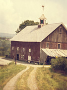 Barn Photo Metal Prints - Four Corners Farm Vermont Metal Print by Edward Fielding