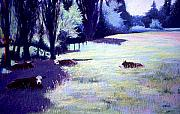 Mary McInnis - Four Cows Lounging