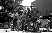 Sun Ra Arkestra Photos - Four Flutes 1 by Lee  Santa