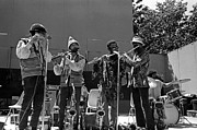 Sun Ra Arkestra Photos - Four Flutes 2 by Lee  Santa