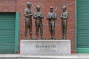 Red Sox Hall Of Fame Framed Prints - Four Legends Framed Print by Juergen Roth