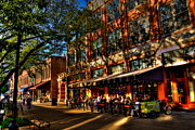 Knoxville Prints - Four Market Square - Knoxville Tennessee Print by David Patterson