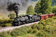 Steam Engine Photos - Four Percent Grade Part 1 by Ken Smith