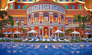 Famous Hotel Paintings - Four Seasons Hotel Macao by Lanjee Chee