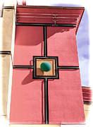 Jeffery Johnson Prints - Four Square Art Deco Print by Photo Captures by Jeffery