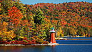 Diane E Berry - Fourth Lake Lighthouse...