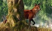 Daniel Eskridge - Fox in a Forest