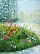 Barb Kirpluk - Fox In The Meadow