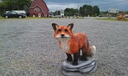 Fox Sculptures - Fox by Jon Vincent  Antonuk