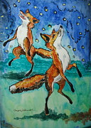 Carole Powell - Foxes and Fireflies