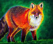 Foxfire Print by TeshiaArt