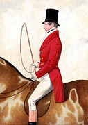 Whip Mixed Media Posters - Foxhunting - 3 Poster by Charles Ross