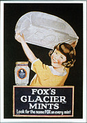 Candy Drawings - FoxÕs Glacier Mints 1920s Uk Sweets by The Advertising Archives
