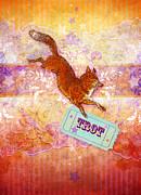 Foxtrot Print by Aimee Stewart