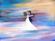Ballroom Paintings - Foxtrot by Kume Bryant