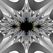 Fractal Art - Fractal 00178 by George Cuda