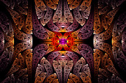 Intense Prints - Fractal - Aztec - The Aztecs Print by Mike Savad