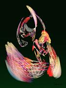 Fractal - Parrot Print by Susan Savad