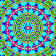 Kaleidoscope Art - Fractalscope 19 by Rose Santuci-Sofranko