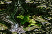 Fractals Photos - Fractualed by Jeff  Swan