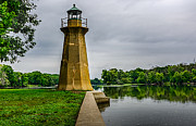 Fox River Prints - Fractured Beacon Print by Randy Scherkenbach