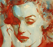 Marilyn Monroe Paintings - Fragile by Paul Lovering