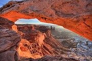 Adam Jewell - Framed By Mesa Arch